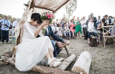 Foto de bodas Mika Perdiguero